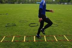Looptraining voor voetballers