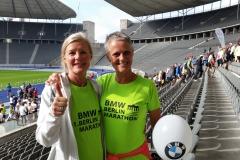 Marathon Berlijn, met Mariette