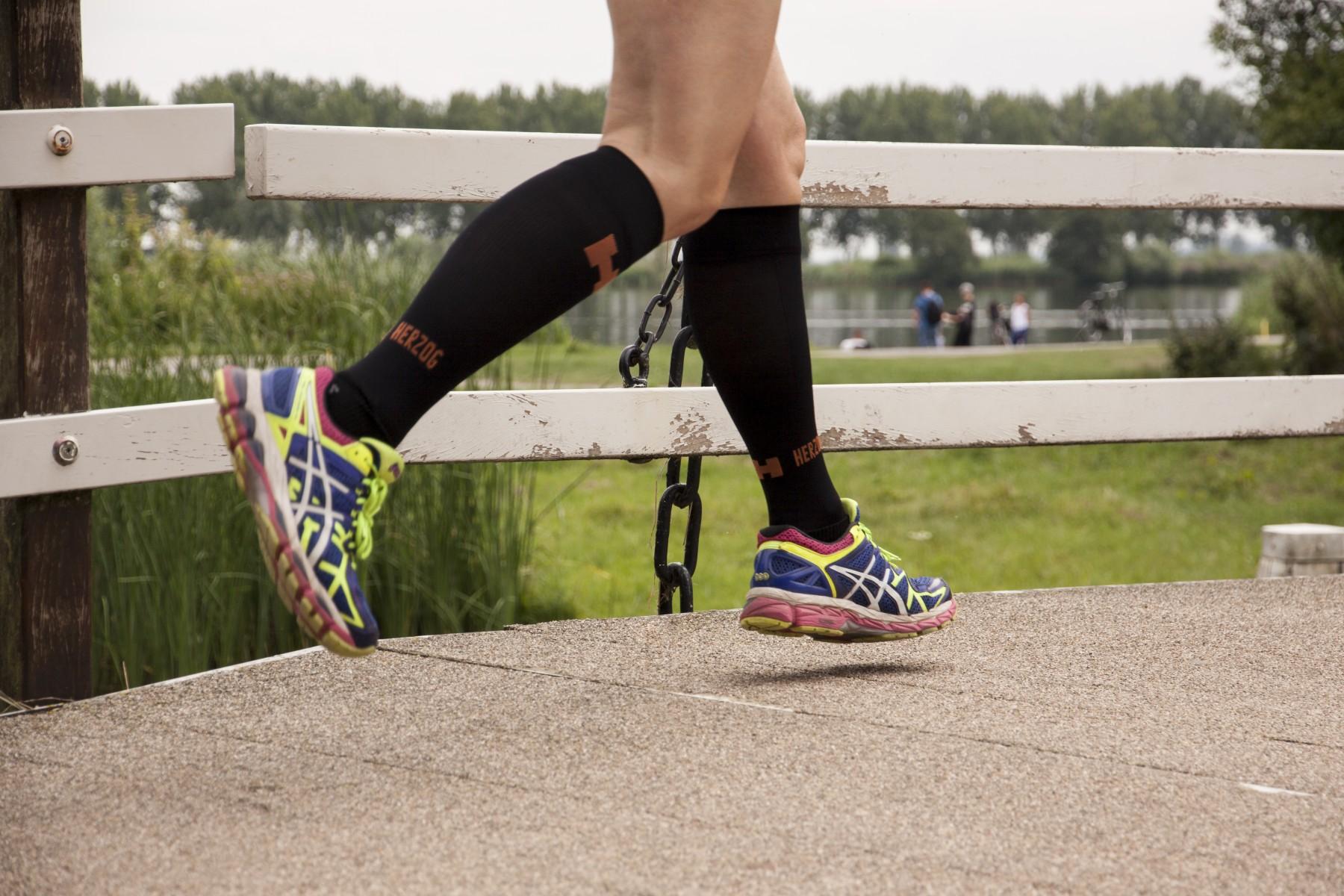 Hardloopschoenen met onderbenen